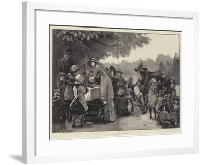 A Day in Arcadia-William Heysham Overend-Framed Giclee Print