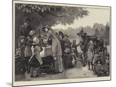 A Day in Arcadia-William Heysham Overend-Mounted Giclee Print