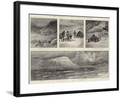 The Jackson-Harmsworth Polar Expedition, Return of the Windward-William Heysham Overend-Framed Giclee Print