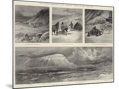 The Jackson-Harmsworth Polar Expedition, Return of the Windward-William Heysham Overend-Mounted Giclee Print