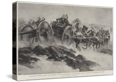 The Advance Towards Dongola-William Heysham Overend-Stretched Canvas Print