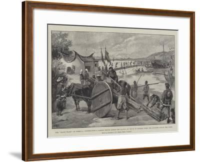 The Black Flags in Formosa-William Heysham Overend-Framed Giclee Print