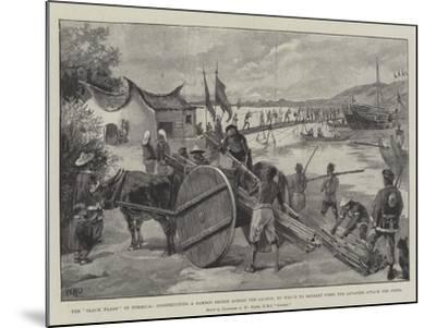 The Black Flags in Formosa-William Heysham Overend-Mounted Giclee Print