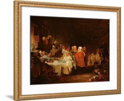 A Scotch Wedding, 1811 (Panel)-William Home Lizars-Framed Giclee Print