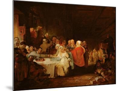 A Scotch Wedding, 1811 (Panel)-William Home Lizars-Mounted Giclee Print