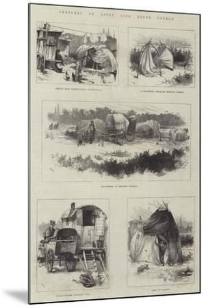 Sketches of Gipsy Life Round London-William Heysham Overend-Mounted Giclee Print