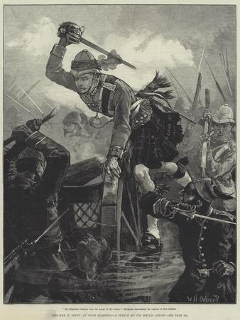 The War in Egypt, at Close Quarters-William Heysham Overend-Framed Giclee Print