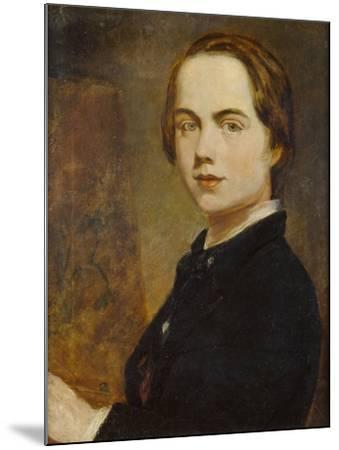 Self-Portrait at the Age of 14, 1841-William Holman Hunt-Mounted Giclee Print