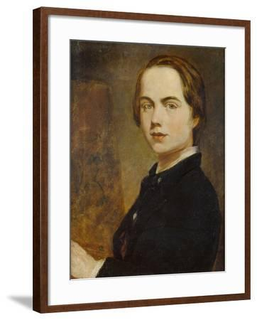 Self-Portrait at the Age of 14, 1841-William Holman Hunt-Framed Giclee Print