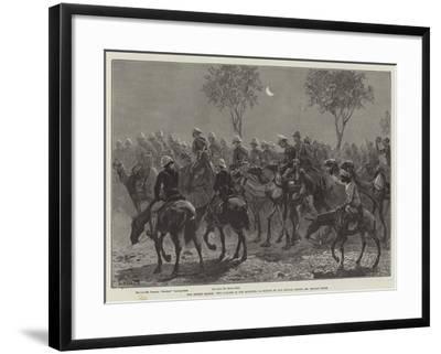 The Desert March, Two O'Clock in the Morning-William Heysham Overend-Framed Giclee Print