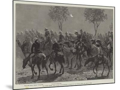 The Desert March, Two O'Clock in the Morning-William Heysham Overend-Mounted Giclee Print