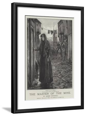 The Master of the Mine-William Heysham Overend-Framed Giclee Print