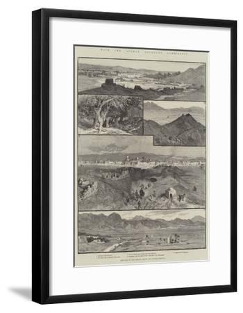 With the Afghan Boundary Commission-William Henry James Boot-Framed Giclee Print