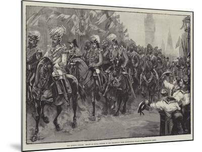 The Queen's Jubilee-William Heysham Overend-Mounted Giclee Print