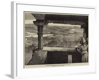 The Royal Visit to India, the Phul-Bagh, or Flower-Garden Palace, Gwalior-William Heysham Overend-Framed Giclee Print