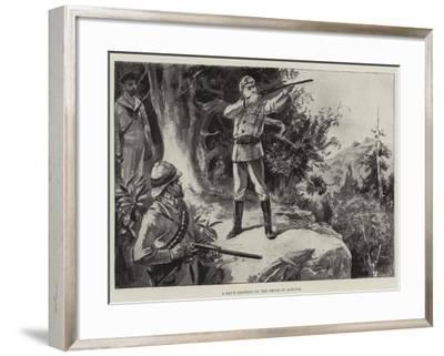 A Day's Shooting on the Shore of Albania-William Heysham Overend-Framed Giclee Print