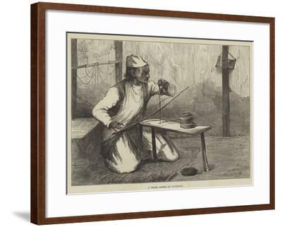 A Pearl Borer of Lucknow-William Heysham Overend-Framed Giclee Print