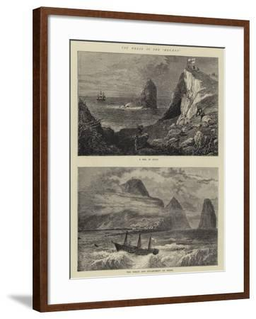 The Wreck of the Megaera-William Henry James Boot-Framed Giclee Print