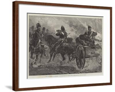 The Royal Review at Aldershott-William Heysham Overend-Framed Giclee Print