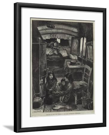 Sketches of Gipsy Life, Interior of Van Near Latimer-Road, Notting-Hill-William Heysham Overend-Framed Giclee Print