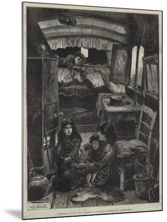 Sketches of Gipsy Life, Interior of Van Near Latimer-Road, Notting-Hill-William Heysham Overend-Mounted Giclee Print