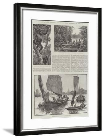 Colonial and Indian Exhibition, North Borneo, Straits Settlements, and Hong-Kong-William Heysham Overend-Framed Giclee Print