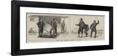 With the Turks, Summary Punishments-William Ralston-Framed Giclee Print