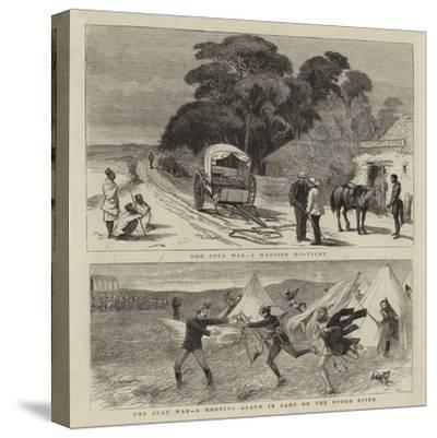 The Zulu War-William Ralston-Stretched Canvas Print