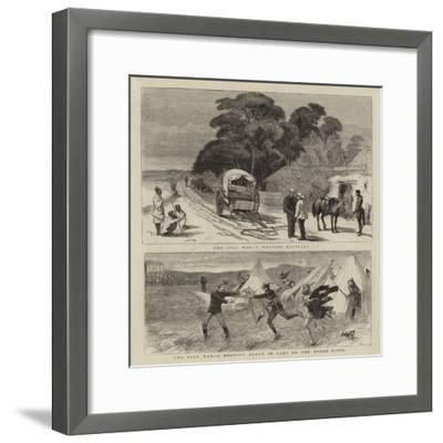 The Zulu War-William Ralston-Framed Giclee Print