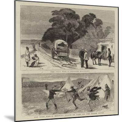 The Zulu War-William Ralston-Mounted Giclee Print