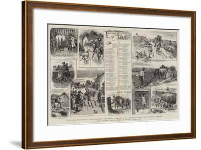 The Kilmarnock Centenary Celebration of the Publication of Burns' Poems-William Ralston-Framed Giclee Print