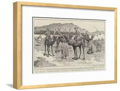 The Special Correspondents Starting a Reconnaissance of their Own at Assouan-William Ralston-Framed Giclee Print