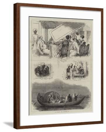 A Visit to India, IV-William Ralston-Framed Giclee Print