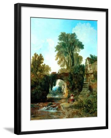 Collecting Water-William James Muller-Framed Giclee Print