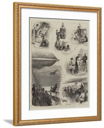 A Visit to India, Notes on Voyage Out-William Ralston-Framed Giclee Print