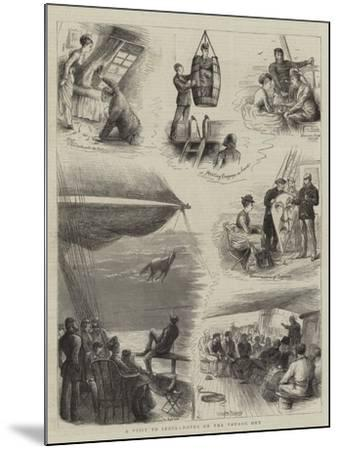 A Visit to India, Notes on Voyage Out-William Ralston-Mounted Giclee Print