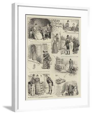 A Very Young Couple-William Ralston-Framed Giclee Print