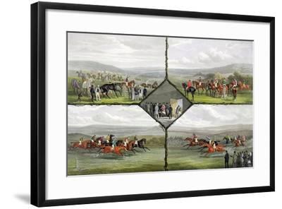 Racing Incidents-William Joseph Shayer-Framed Giclee Print
