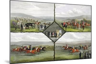 Racing Incidents-William Joseph Shayer-Mounted Giclee Print