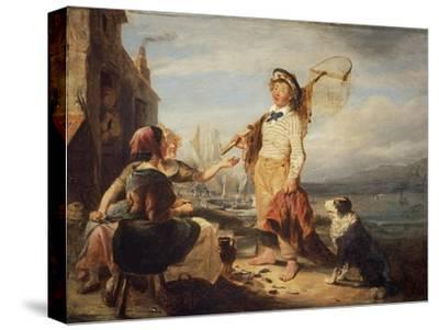NG 982 Fisher Folk-William Kidd-Stretched Canvas Print