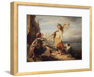 NG 982 Fisher Folk-William Kidd-Framed Giclee Print