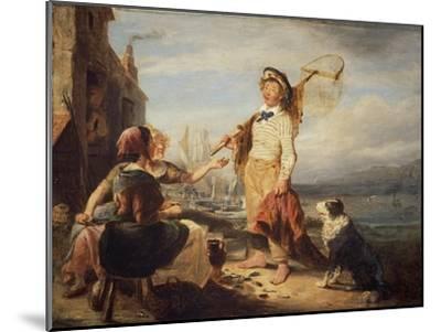 NG 982 Fisher Folk-William Kidd-Mounted Giclee Print