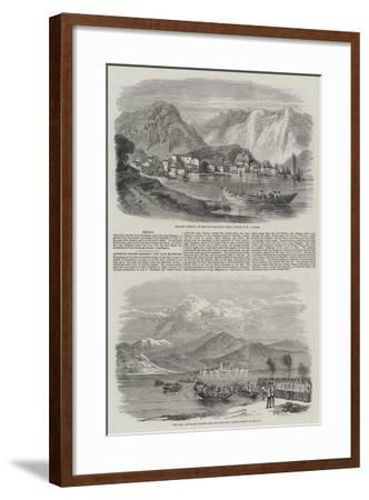 The War in Italy-William Leighton Leitch-Framed Giclee Print