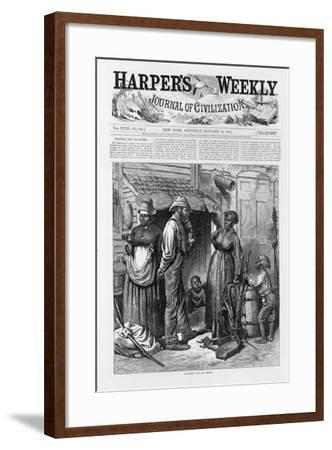 Waiting for an Offer, Pub. 1874-William Ludlow Sheppard-Framed Giclee Print