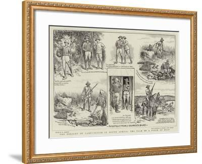 The Delight of Campaigning in South Africa, the Tale of a Piece of Soap-William Ralston-Framed Giclee Print
