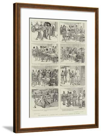 The Romance of a Missing Hat, a Police-Court Episode in Ceylon-William Ralston-Framed Giclee Print
