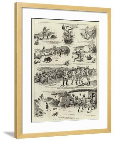 A Tale of a Famous Panther Hunt-William Ralston-Framed Giclee Print