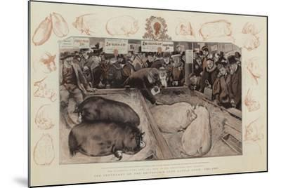 The Centenary of the Smithfield Club Cattle Show, 1798-1897-William Small-Mounted Giclee Print