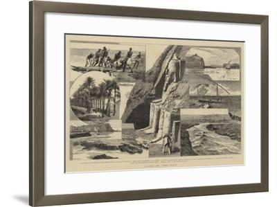 Cairo and the Nile-William Lionel Wyllie-Framed Giclee Print