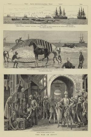 The War in Egypt-William Lionel Wyllie-Framed Giclee Print